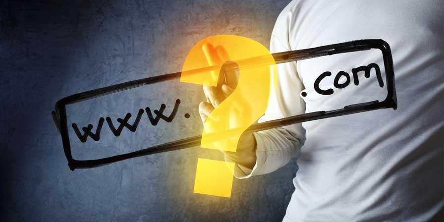 start a blog - pick a domain name