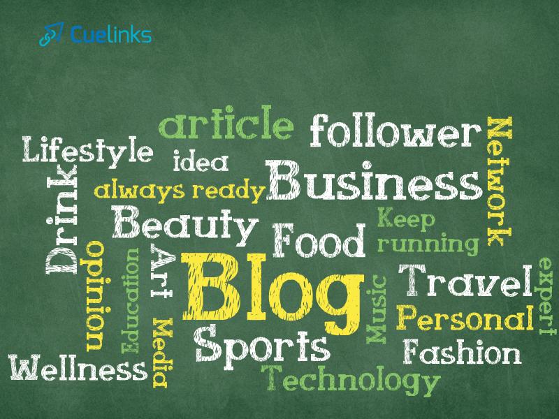 start a blog - pick a theme