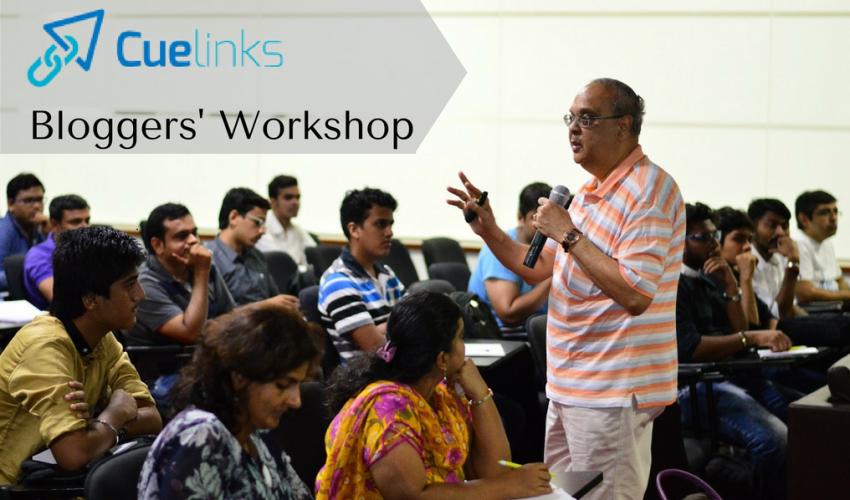 Cuelinks bloggers workshop